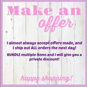 Make an Offer!🎉💜